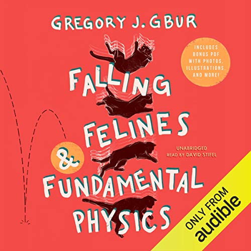 Falling Felines and Fundamental Physics audiobook cover art