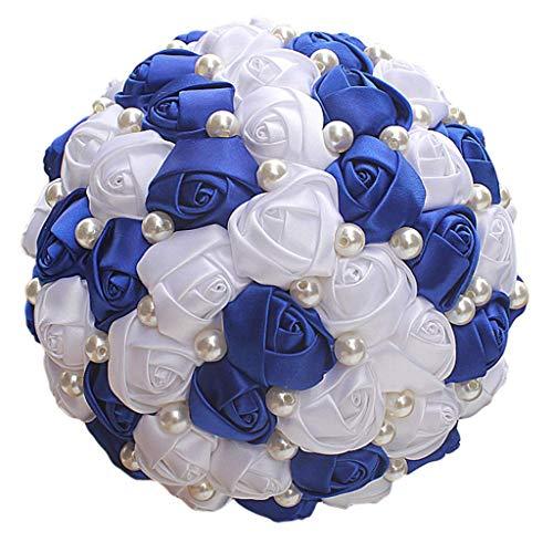 ZYYH Ramo de Novia Decoración de Boda Hermosas Flores de Boda Ramos de Novia Decoración de Ramo de Boda Artificial