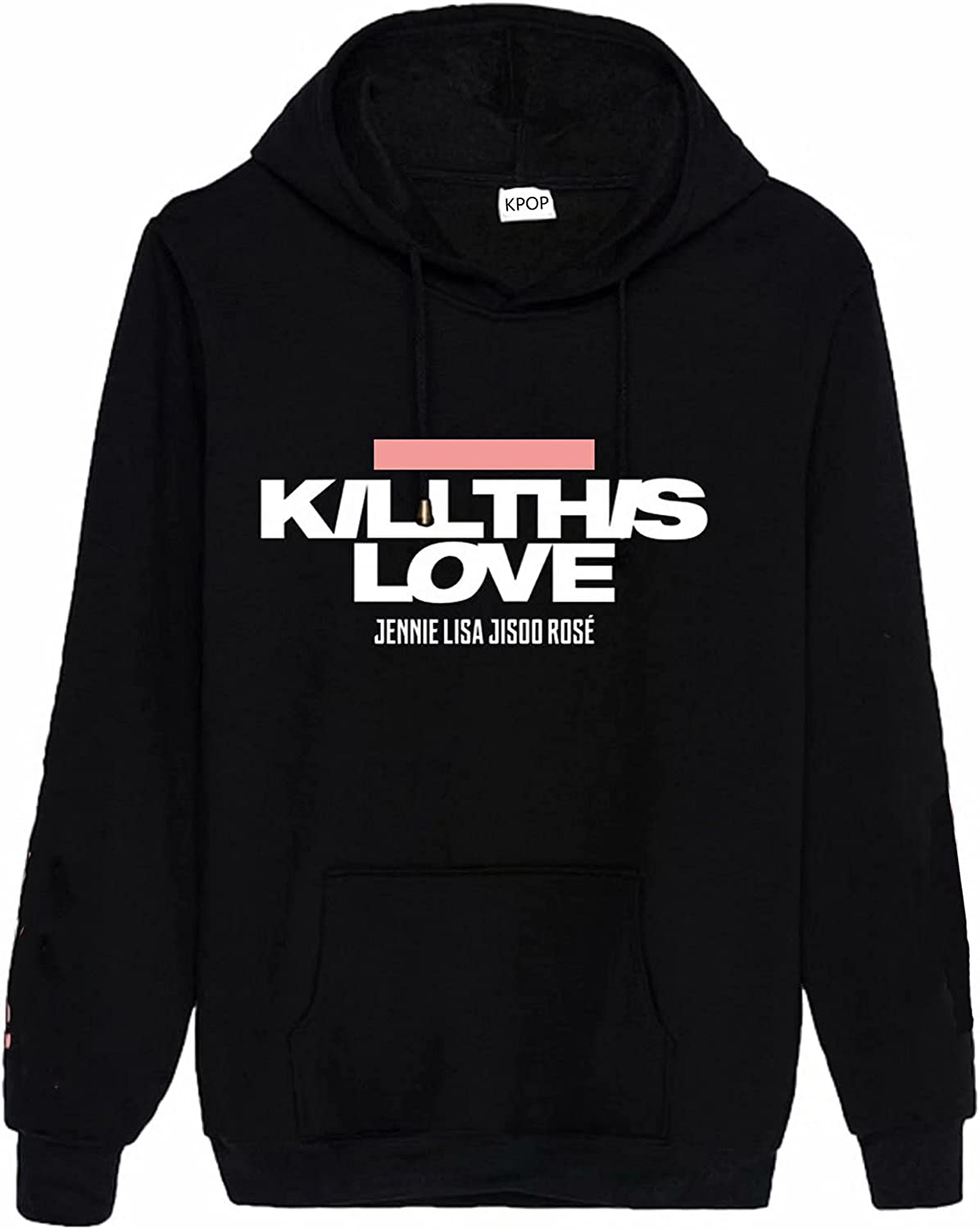 KPOP Hoodie New At Fort Worth Mall the price of surprise Album Kill This Jisoo R Love Jennie Lisa Sweater