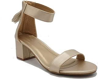 ShoBeautiful Womens Heeled Sandal