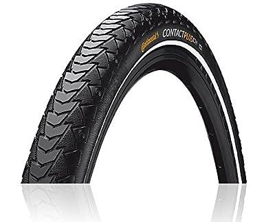 Continental Contact Plus ETRTO (28-622) 700 x 28 Reflex Bike Tires, Black