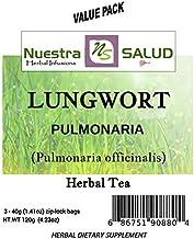 Lungwort Herbal Tea Pulmonaria Value Pack (120g)