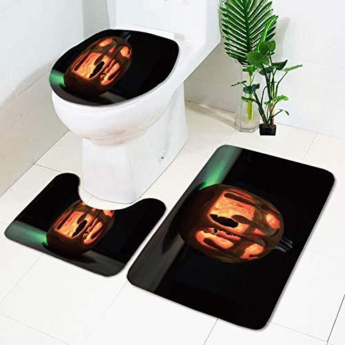 Claean-Acces-Home Alfombrilla De BañO Antideslizante Baño de baño Suelo durmiente-WSJ442_Conjunto de Tres Piezas de 45 * 75cm