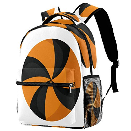 Butterfliy Art - Mochila escolar para viajes, diseño informal, estampado 6 (Multicolor) - bbackpacks004