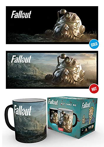 empireposter Fallout - 76 - Dawn - Thermoeffekt Tasse - Größe Ø8,5 H9,5cm
