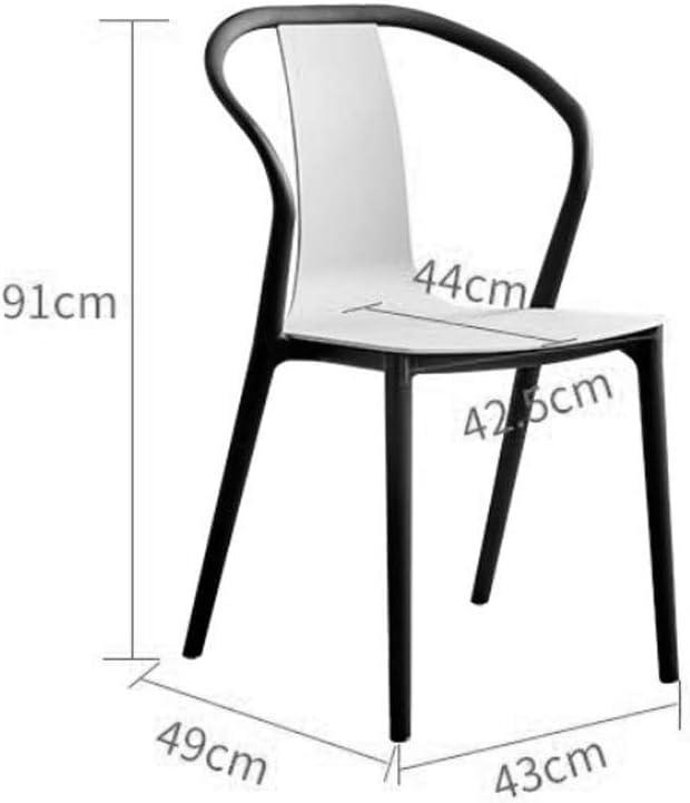 Solide Simple Chaise Bureau étudiant et Chaise de Maquillage Tabouret Retour à la Maison à Manger Chaise d'ordinateur Stable (Color : Wood Color) Wood Color