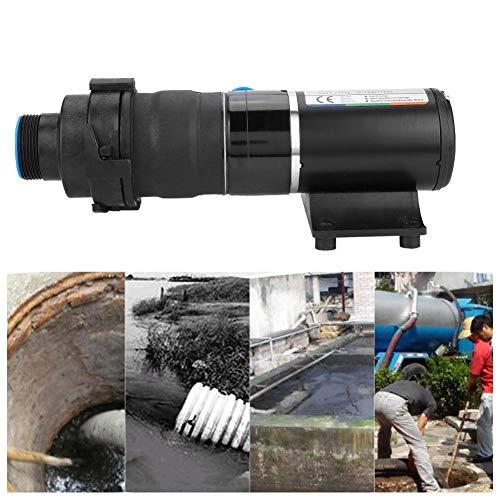 RV Pumpe, DC12V RV Mount Macerator Hochdruck Abwasserpumpe 45LPM 12GPM Impellerpumpe für Car Caravan Camper Ozean Schiff Küche Industrie