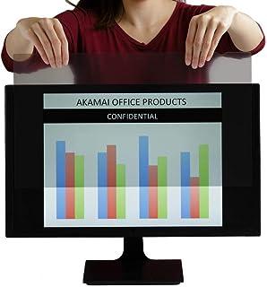 Monitor Privacy Screen - Info Protection Desktop Computer Security - Anti-Glare, Anti-Scratch, Blocks 96% UV - Matte Gloss...
