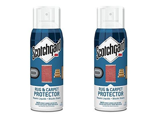 3M Scotchgard Rug & zoExFH, Carpet Protector, 2Pack (14 oz)