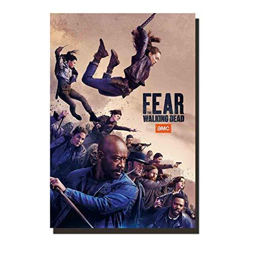 chtshjdtb Fear The Walking Dead Staffel 5 Filmkunst Poster Gemälde Drucken Wohnzimmer Wohnkultur -20X28 Zoll No Frame 1 Pcs