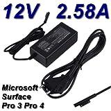 TOP CHARGEUR * Adattatore Caricatore Caricabatteria Alimentatore 12V per Tablet PC Microsoft Surface Pro 3 Pro3 Pro 4 Pro4 Pro 5