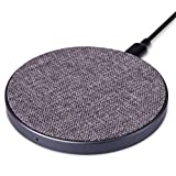 Navaris Qi Wireless Charging Pad - Metal Qi Induction
