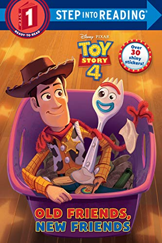 Old Friends, New Friends (Disney/Pixar Toy Story 4) (Step into Reading)