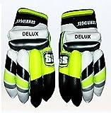 Crickworld4u SS Delux Leather Cricket Batting Gloves