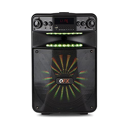 Smart App Controlled Party Sound System with Light Effects