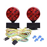 CZC AUTO 12V LED Magnetic Towing Light...