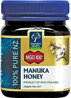 Manuka Health MGO 400+ Manuka Honey 250G, 100% Pure New Zealand Honey Expire date 7/1/2024