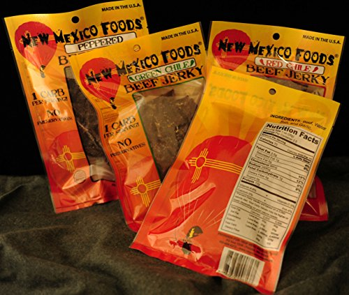 New Mexico Foods Beef Jerky 100% Natural and Preservative...