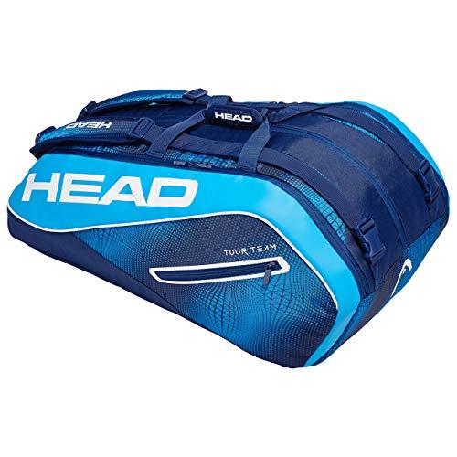 HEAD Unisex– Erwachsene Tour Team 12R Monstercombi Tennistasche, Navy/Blue, Einheitsgröße