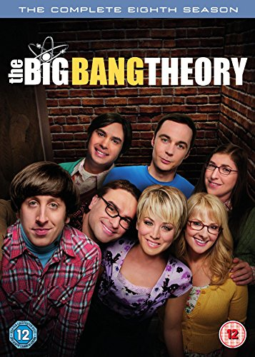 Cover The Big Bang Theory: Season 8 [3 DVDs] [UK Import]