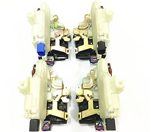 HZTWFC 4 pièces arrière gauche droite et avant droite gauche loquet de verrouillage de porte conducteur OEM # 3B4839015AP 3B4839016AP 3B1837015AT 3B1837016CG pour VW BEETLE GTI JETTA R32 RABBIT