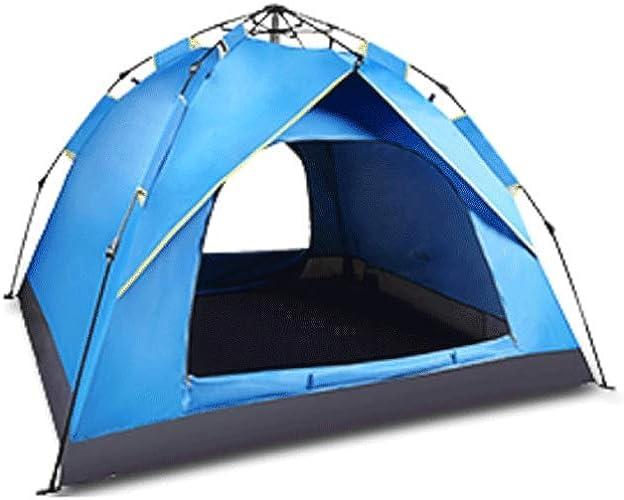 XXW Tente Camping en Plein air Tente de Prougeection Solaire antipluie épais Multi-Personnes Produits de Plein air Tente Extérieure
