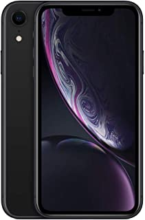 Apple iPhone XR Black 128GB SIM-Free Smartphone (Renewed)