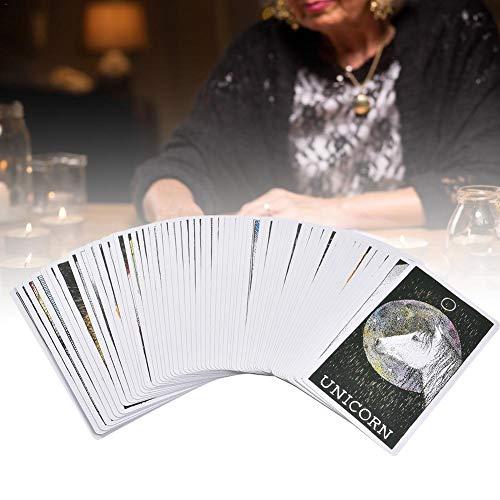 Het goede Tarot, 63 wilde onbekende dieren Spirit Deck Guide tarotkaarten plankspeelkaart Animal Elf