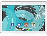 Brigmton BTPC-1021QC3G-B - Tableta de 10' (SC7731 Quad Core 1.3 GHz, disco duro de 16 GB, 1 GB de RAM, 3G, Android 5.0) blanco