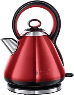 retro wasserkocher rot Russell Hobbs Wasserkocher, Legacy rot, 1,7l, 2400W, Schnellkochfunktion, Quiet-Boil-Technologie, optimierte Ausgusstülle, herausnehmbarer Kalkfilter, sehr leiser Teekocher 21885-70