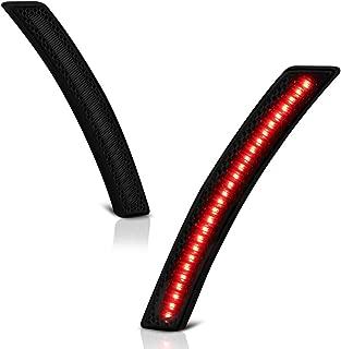VIPMOTOZ Rear Wheel Arch Full LED Dark Smoke Side Marker Light Lamp Assembly Replacement Pair For Mini Cooper R55 R56 R57 R58 R59 R60 R61, Driver & Passenger Side