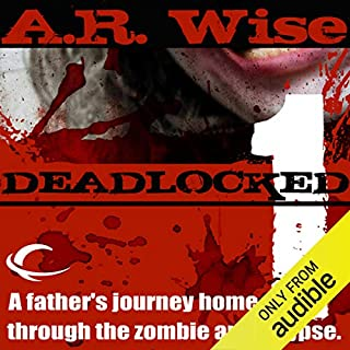 Deadlocked 1 audiobook cover art