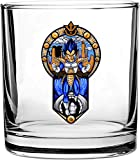 'Prince' Anime Fighting Powerful Men Cartoon Parody Design - 3D Color Printed Scotch Whiskey Glass 10.5 oz