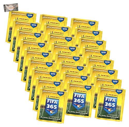 ★ F.IFA 365 Sticker Edition 2021 - Sammelsticker - 25 Tüten + stickermarkt24de Gum