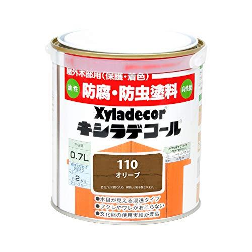 大阪ガスケミカル株式会社 キシラデコール オリーブ 0.7L