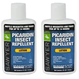 Sawyer Products SP5642 20% Picaridin Insect Repellent, Lotion, 4-Ounce, Twin Pack