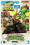 DieCast Hotwheels Monster Trucks Teenage Mutant Ninja Turtles [Raphael] 4/5