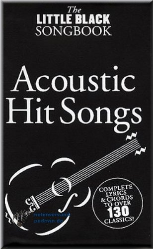 Little Black Songbook - Acoustic Hits - Gitarre Akkorde