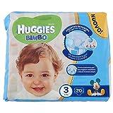 Huggies - Bimbo - Pañales - Talla 3 (4-9 kg) - 20 pañales