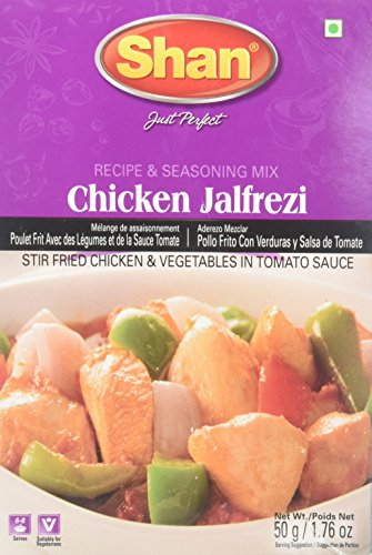 Shan Chicken Jalfrezi Masala 50 Grams Gm Buy Online In United Arab Emirates At Desertcart Ae Productid 63490637