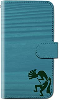 OPPO Find X2 Pro OPG01 ココペリ 神話 木目 スマホケース 手帳型 マグネット式 カード収納 dy001-00035-02 OPPO Find X2 Pro(OPG01):3L