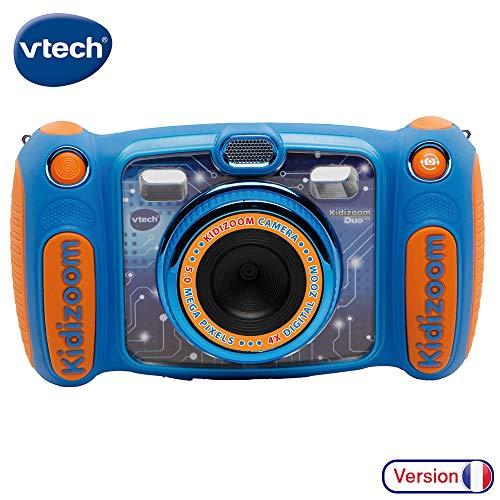 VTech – Kidizoom Duo 5.0 – Bleu – Appareil Photo Enfant – Appareil Photo Numérique