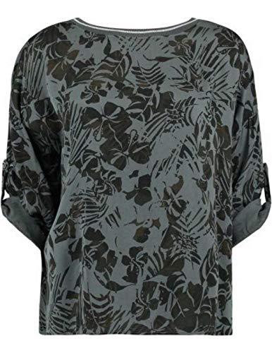 Zabaione Damen Bluse Grau grau XS/S