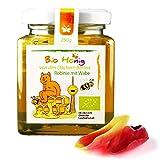 Honig mit Wabe Bio - 250g Wabenhonig in Premium Qualität