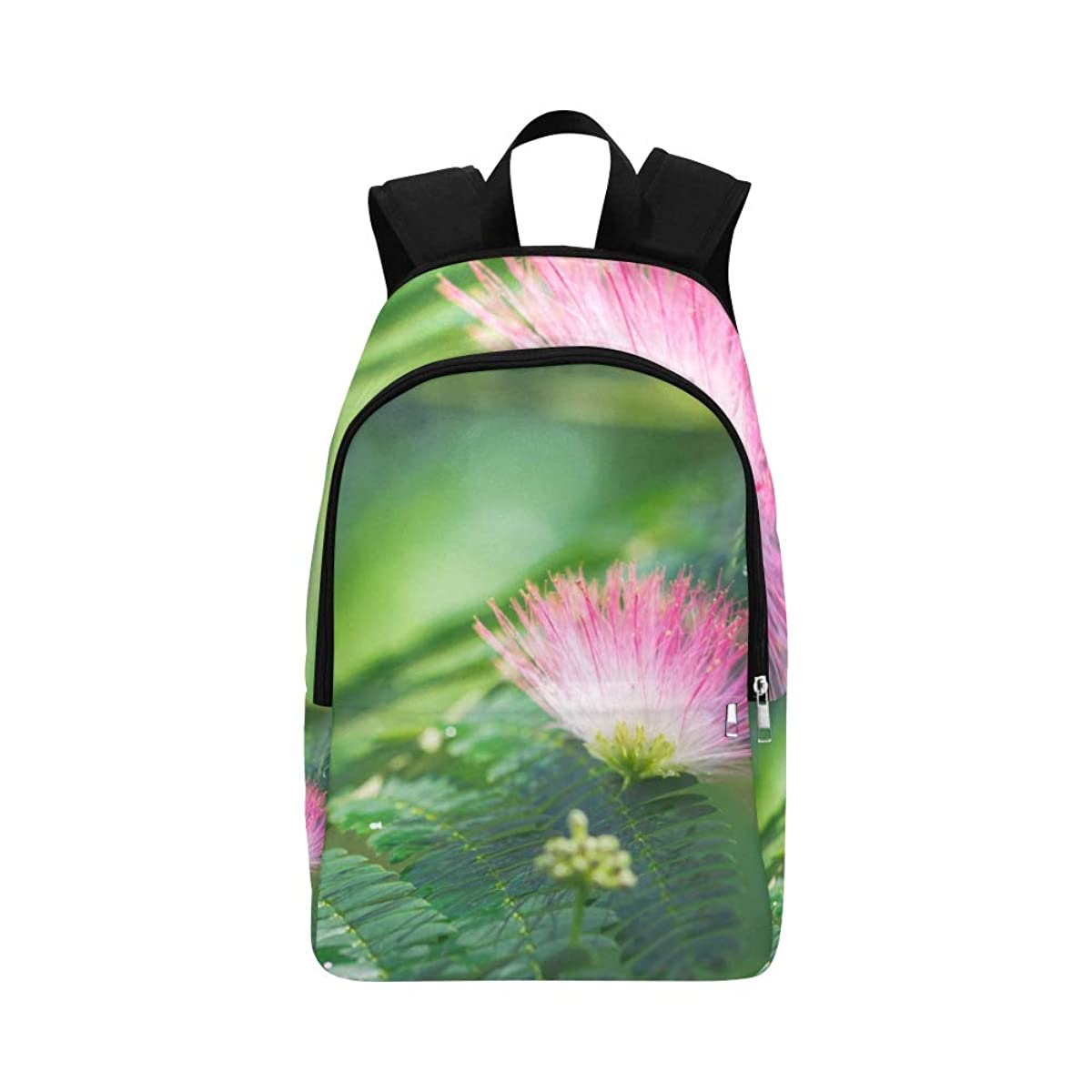 APJDFNKL Close Up of Beautiful Albizia Blossom Casual Daypack Travel Bag College School Backpack for Mens and Women