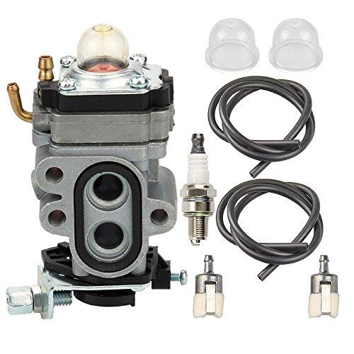 Butom WYA-1-1 Carburetor with Fuel Filter Spark Plug for Redmax BCZ3060TS EZ25005 BCZ2400S BCZ2500 GZ25N23 GZ25N14 BCZ2600S BCZ2600SU BCZ2600SW BCZ2500S BCZ2460S BCZ2600 Trimmer Brush Cutter Blower