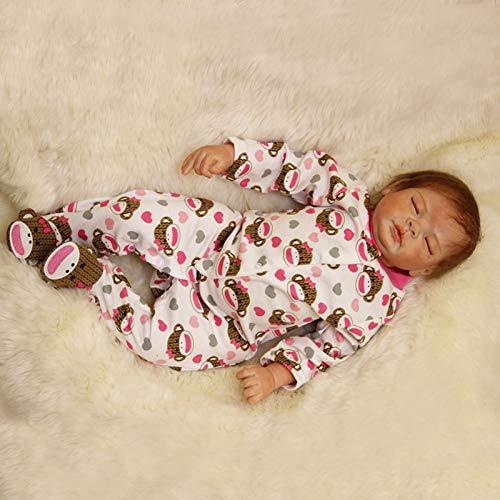 Nicery B153 - Muñeca de bebé de silicona, suave simulació