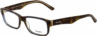 Eyeglasses Prada PR 16MV ZXH1O1 TORTOISE DENIM DEMO LENS...