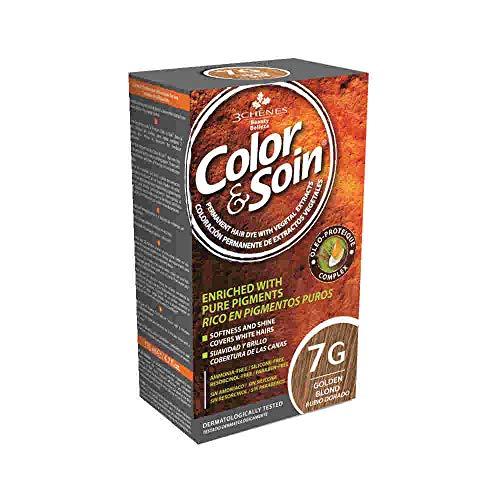 Les 3 Chênes : Color & Soin 7G - blond doré