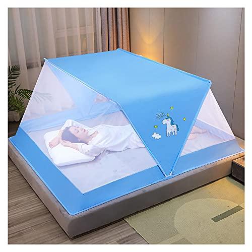 Mosquitera Plegable Sin Fondo Cubierta Portátil Para Mosquitos Fácil Instalación De Mosquiteras En Camping Y Al Aire Libre Para Cama De Adultos/cama De Bebé/techo/campo (8,100 * 190 * 80cm)